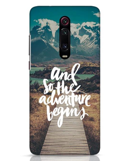 Shop Adventure Begins Xiaomi Redmi K20 Pro Mobile Cover-Front