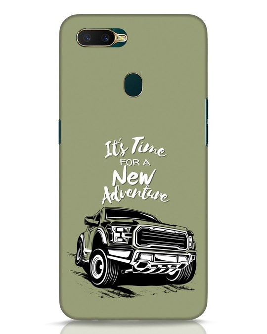 Shop Adventure Car Oppo A7 Mobile Cover-Front