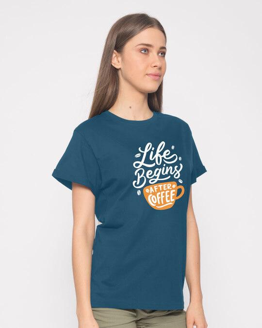 Shop After Coffee Boyfriend T-Shirt-Back