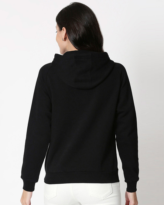 Shop Agree With Me Sweatshirt Hoodie (DL) Black-Back