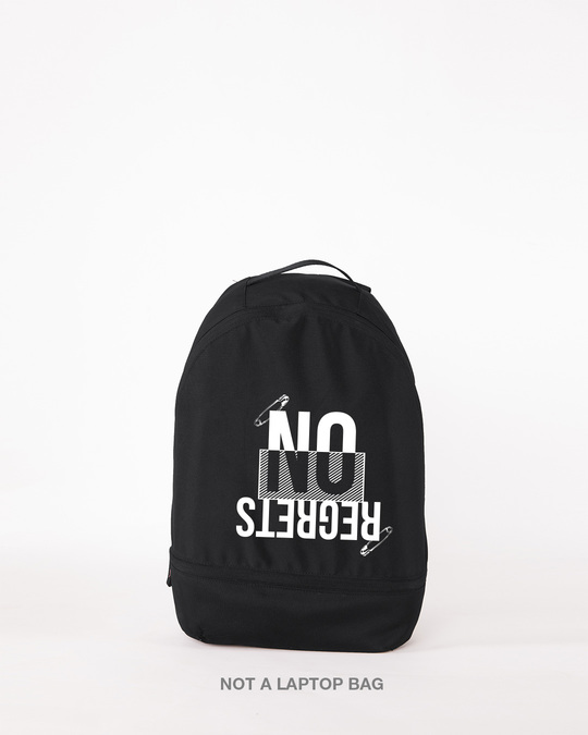 Shop Ain't No Regrets Small Backpack-Front
