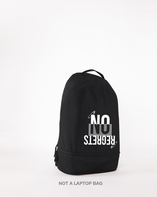 Shop Ain't No Regrets Small Backpack-Design