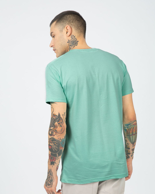 Shop Airplane Mode On Half Sleeve T-Shirt-Full