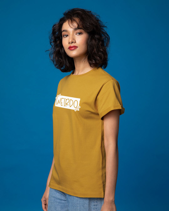 Shop Ajeeb Boyfriend T-Shirt-Back