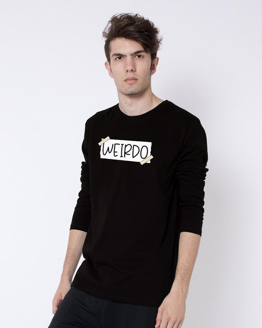 Shop Ajeeb Full Sleeve T-Shirt-Back