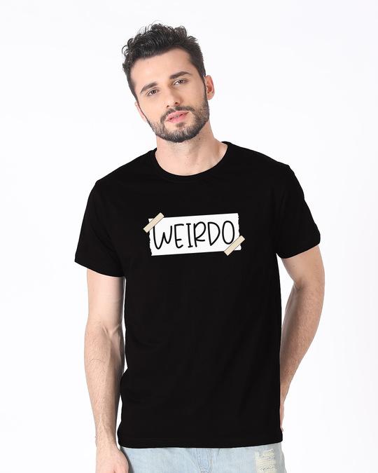 Shop Ajeeb Half Sleeve T-Shirt-Back