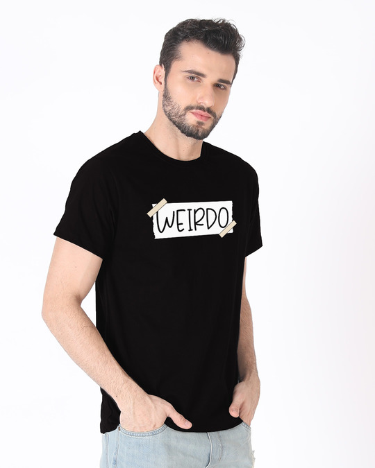 Shop Ajeeb Half Sleeve T-Shirt-Design
