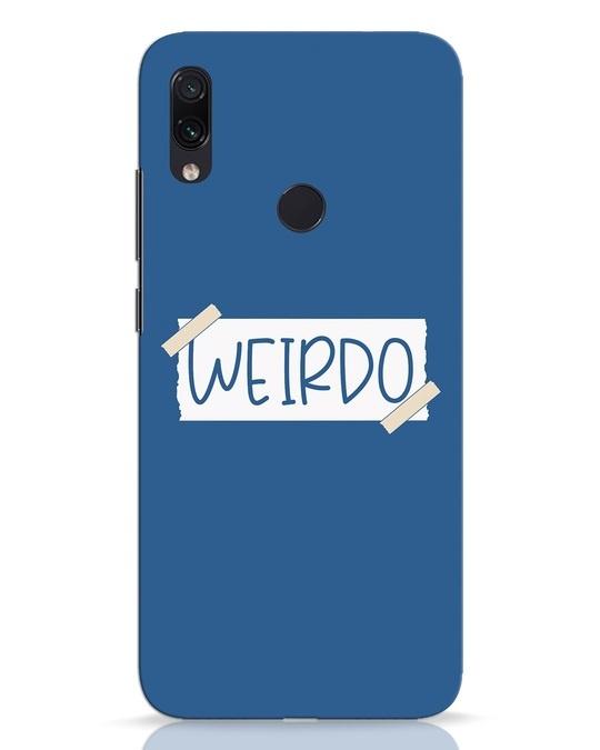 Shop Ajeeb Xiaomi Redmi Note 7 Pro Mobile Cover-Front