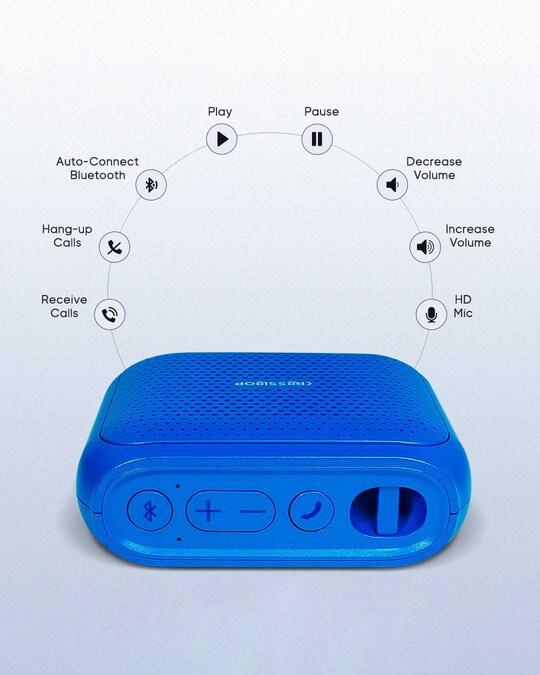 Shop AKORN Wireless Waterproof Party Bluetooth Speaker-Back