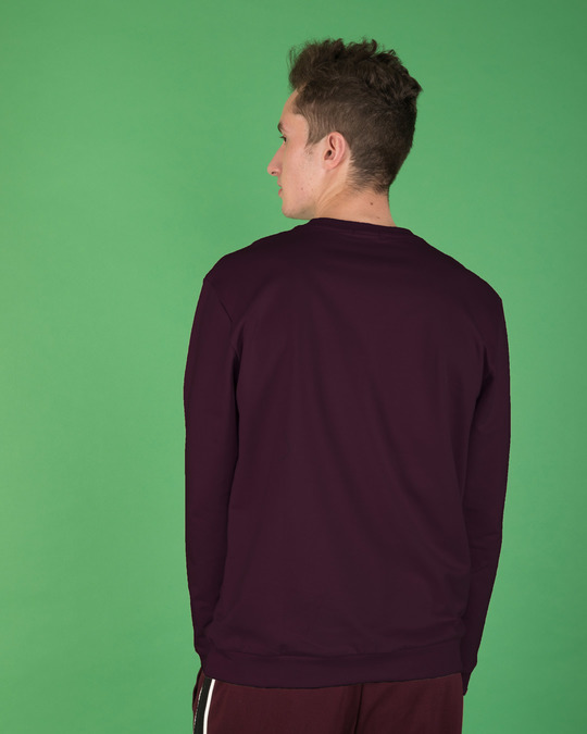 Shop A.W. Glow In Dark Fleece Light Sweatshirt-Back