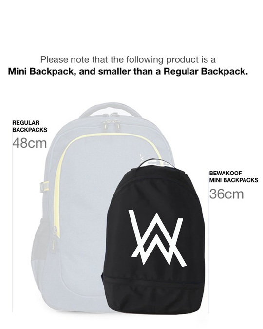 Shop A.W. Music Small Backpack-Back