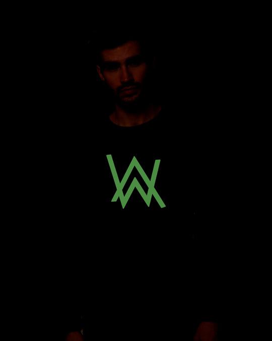Shop A.W. Music Glow In Dark Full Sleeve T-Shirt