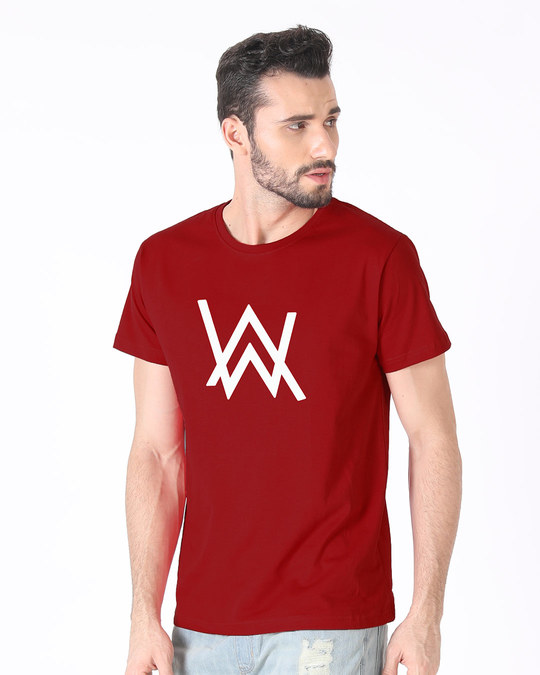 Shop A.W. Music Half Sleeve T-Shirt (GID)-Full
