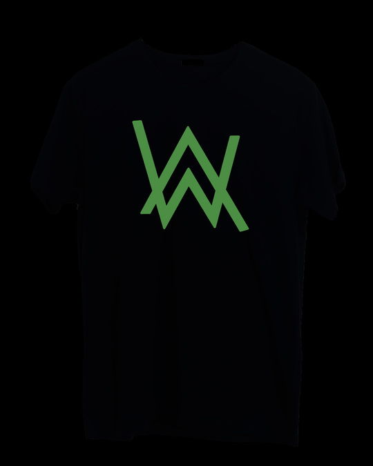 Shop A.W. Music Half Sleeve T-Shirt (GID)