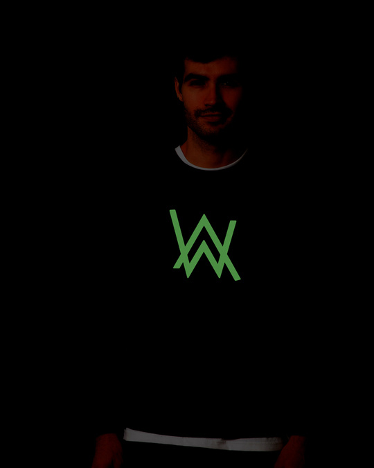 Shop A.W. Music Glow In Dark Fleece Light Sweatshirt