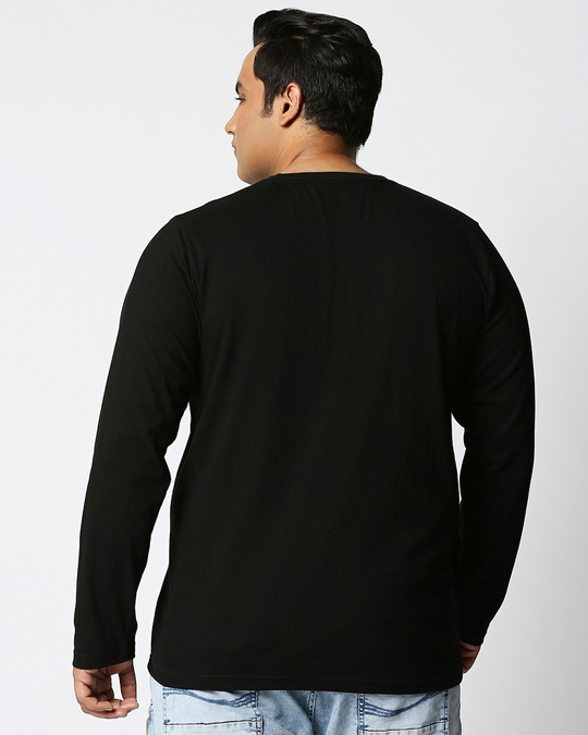 Shop All Day Momos (TJL) Full Sleeves Plus Size T-Shirt-Design
