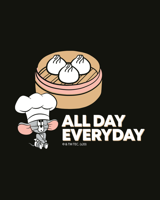 Shop All Day Momos (TJL) Full Sleeves Plus Size T-Shirt