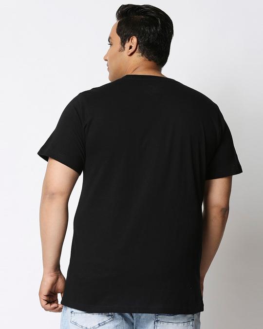 Shop All Day Momos (TJL) Half Sleeve Plus Size T-Shirt-Design