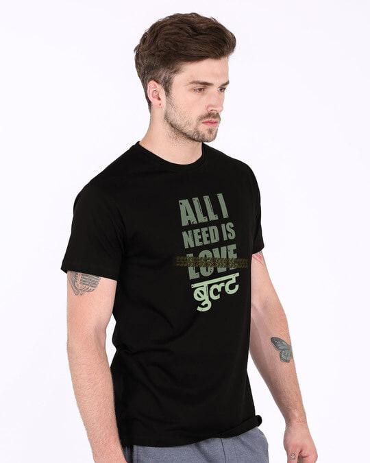 Shop All I Need Is Bult Half Sleeve T-Shirt-Full