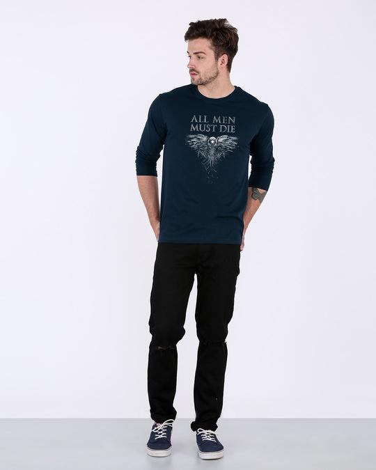 Shop All Men Must Die Full Sleeve T-Shirt (GTL)-Full