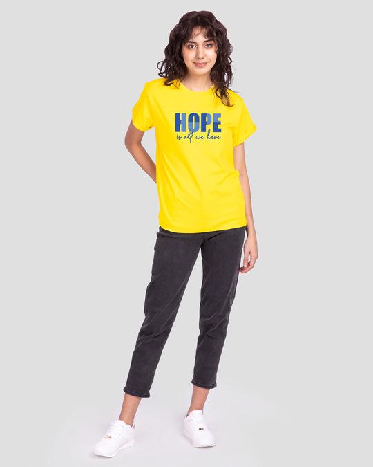 Shop All We Have Boyfriend T-Shirt Pineapple Yellow-Design
