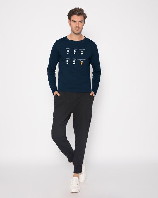 Shop All Week Full Sleeve T-Shirt