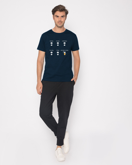 Shop All Week Half Sleeve T-Shirt