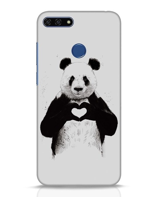 Shop All You Need Is Love Huawei Honor 7A Mobile Cover-Front