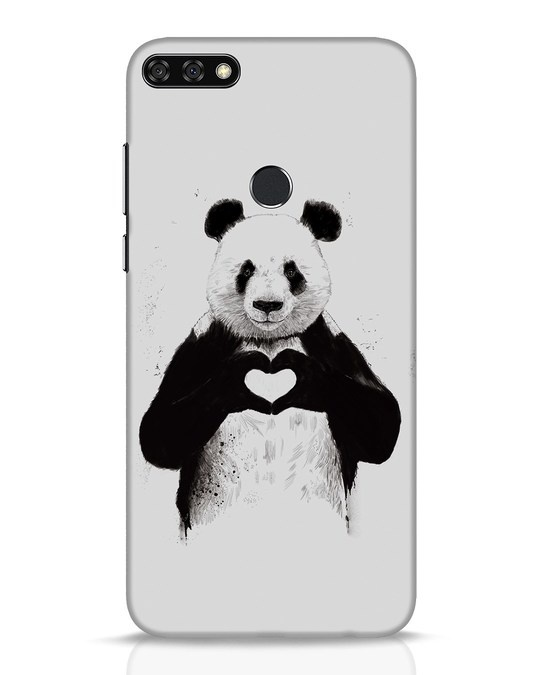 Shop All You Need Is Love Huawei Honor 7C Mobile Cover-Front