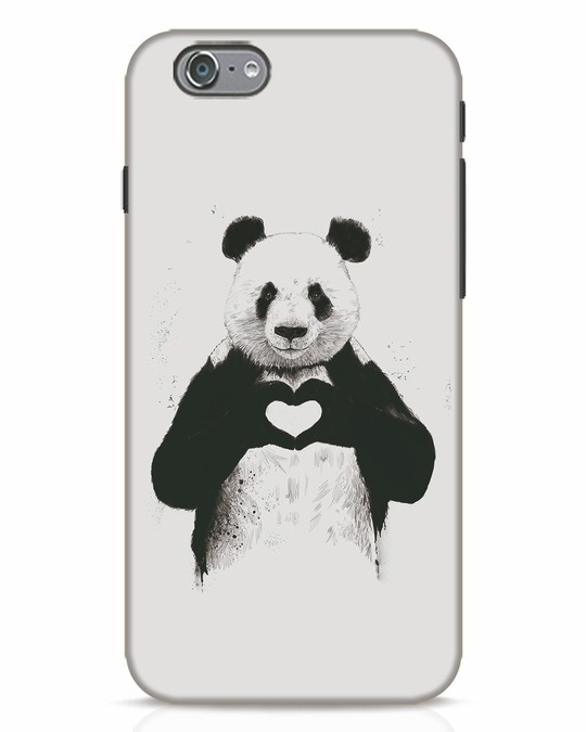 Shop All You Need Is Love iPhone 6 Mobile Cover-Front