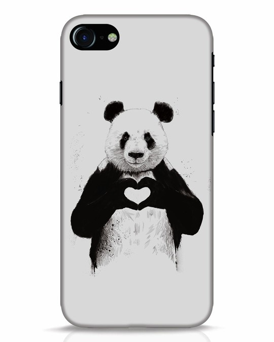 Shop All You Need Is Love iPhone 8 Mobile Cover-Front