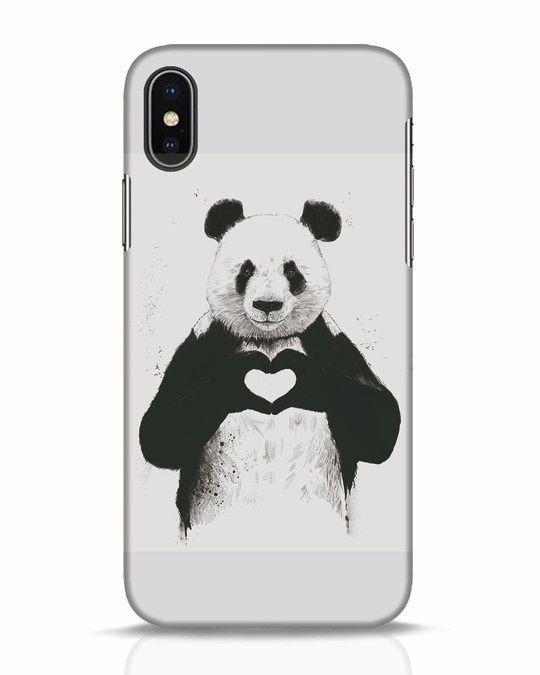 Shop All You Need Is Love iPhone X Mobile Cover-Front