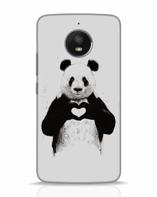 Shop All You Need Is Love Moto E4 Plus Mobile Cover-Front