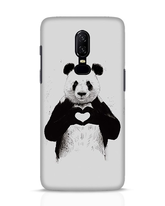 Shop All You Need Is Love OnePlus 6 Mobile Cover-Front