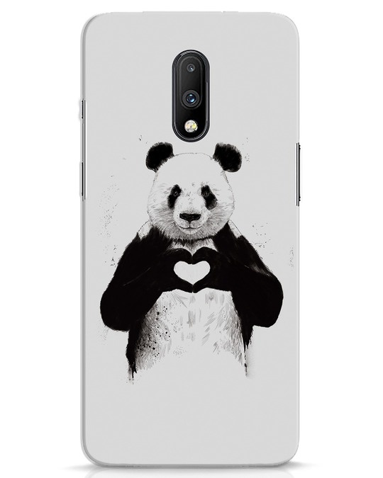 Shop All You Need Is Love OnePlus 7 Mobile Cover-Front