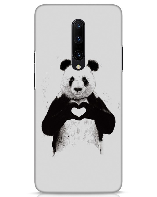 Shop All You Need Is Love OnePlus 7 Pro Mobile Cover-Front