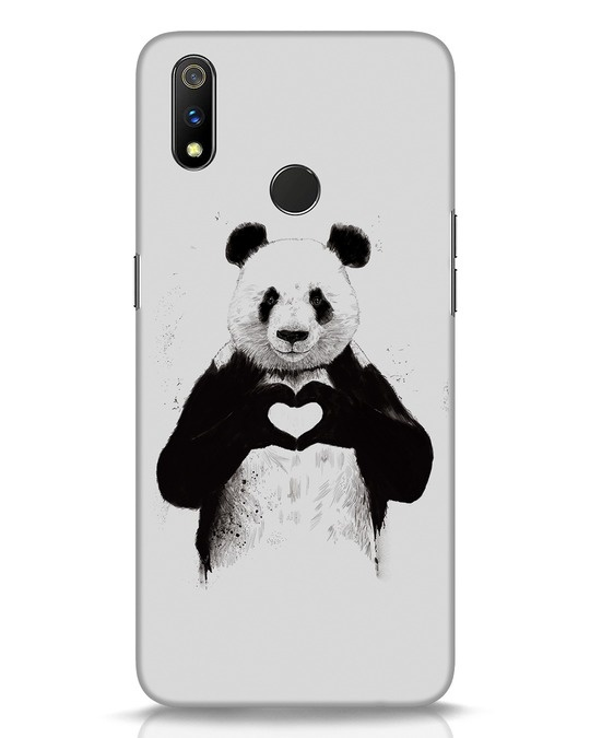 Shop All You Need Is Love Realme 3 Pro Mobile Cover-Front