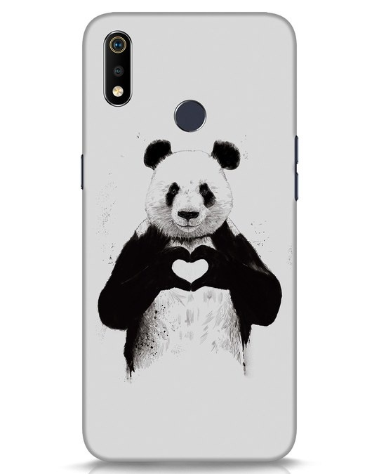 Shop All You Need Is Love Realme 3i Mobile Cover-Front