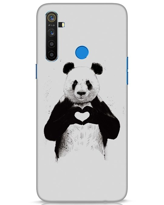 Shop All You Need Is Love Realme 5 Mobile Cover-Front