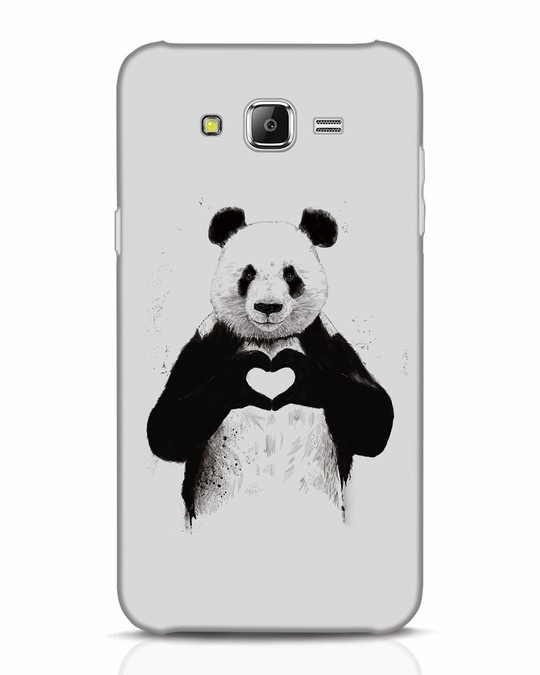 Shop All You Need Is Love Samsung Galaxy J7 Mobile Cover-Front