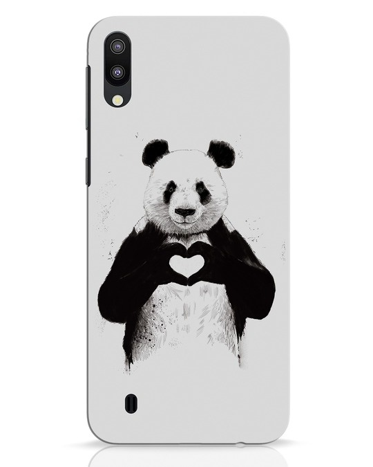 Shop All You Need Is Love Samsung Galaxy M10 Mobile Cover-Front