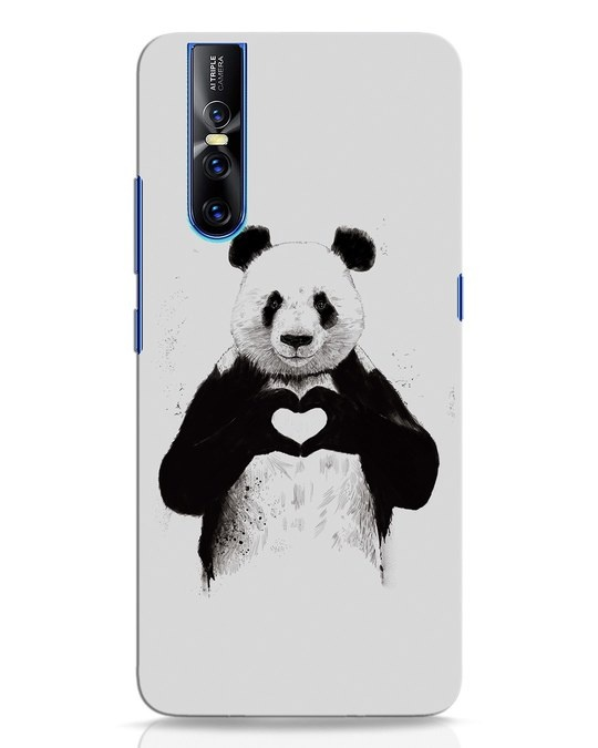 Shop All You Need Is Love Vivo V15 Pro Mobile Cover-Front