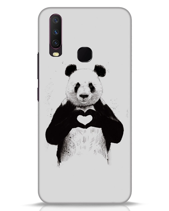 Shop All You Need Is Love Vivo Y17 Mobile Cover-Front