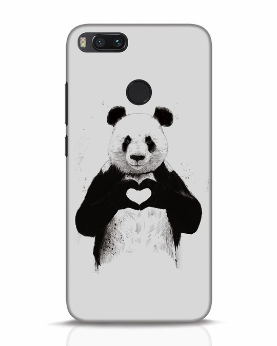 Shop All You Need Is Love Xiaomi Mi A1 Mobile Cover-Front