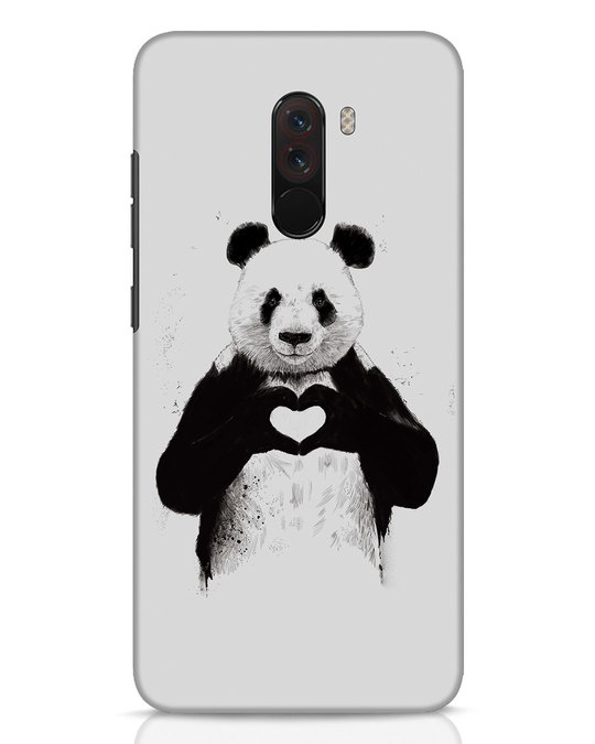 Shop All You Need Is Love Xiaomi POCO F1 Mobile Cover-Front