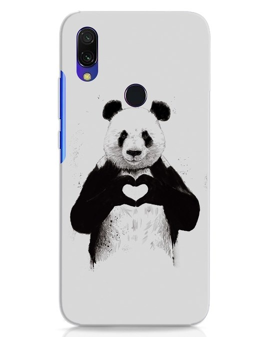 Shop All You Need Is Love Xiaomi Redmi 7 Mobile Cover-Front