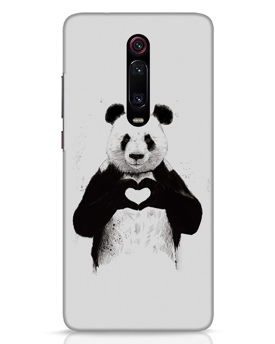 Shop All You Need Is Love Xiaomi Redmi K20 Pro Mobile Cover-Front
