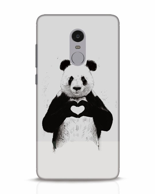 Shop All You Need Is Love Xiaomi Redmi Note 4 Mobile Cover-Front