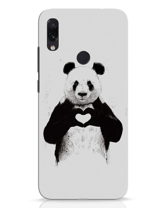 Shop All You Need Is Love Xiaomi Redmi Note 7 Pro Mobile Cover-Front