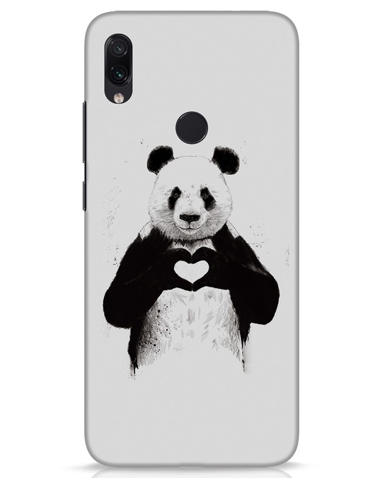 Shop All You Need Is Love Xiaomi Redmi Note 7s Mobile Cover-Front